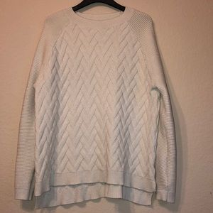 Devotion by Cyrus off white sweater size XL